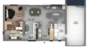 plan dressing chambre plan de maison en ligne design affordable trs grande familiale with