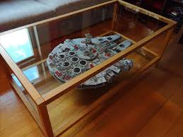 Millennium Falcon Modmoc Page Star Millenium Album On Imgur Ucs Lego Display Coffee Table