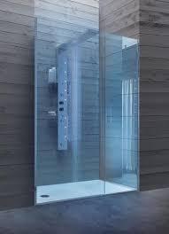 walk in dusche mit glastür für hotels badezimmer idfdesign