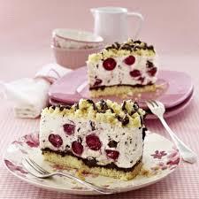 kirsch stracciatella torte rezept lecker kuchen und