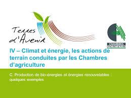 chambre agriculture 38 changement climatique l agriculture pleinement concernée ppt