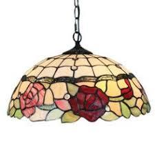 abat jour chambre gar輟n 16 inch suspension style rétro jardin européen abat jour en verre
