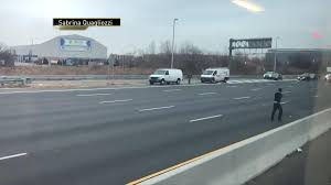 100 Truck Wrecks Videos Money Rains Onto New Jersey Highway From Armored Crashes