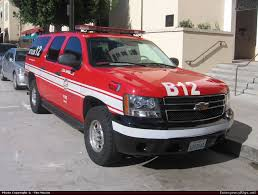 Chevrolet Suburban Command Los Angeles Fire Department Emergency ...