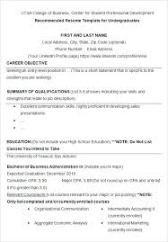 Examples Of Resumes For College Student Resume Templates Sample Profile Students