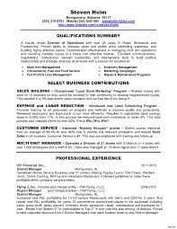 Fast Food Manager Resume Sample Dadaji Us In Perfect