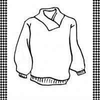 Free Printable Ugly Sweater Coloring Page