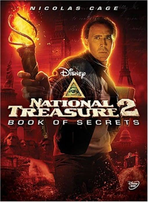 National Treasure 2: Book of Secrets DVD