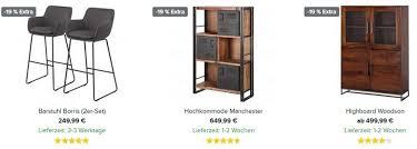 home24 19 rabatt auf viele wohn esszimmermöbel z b