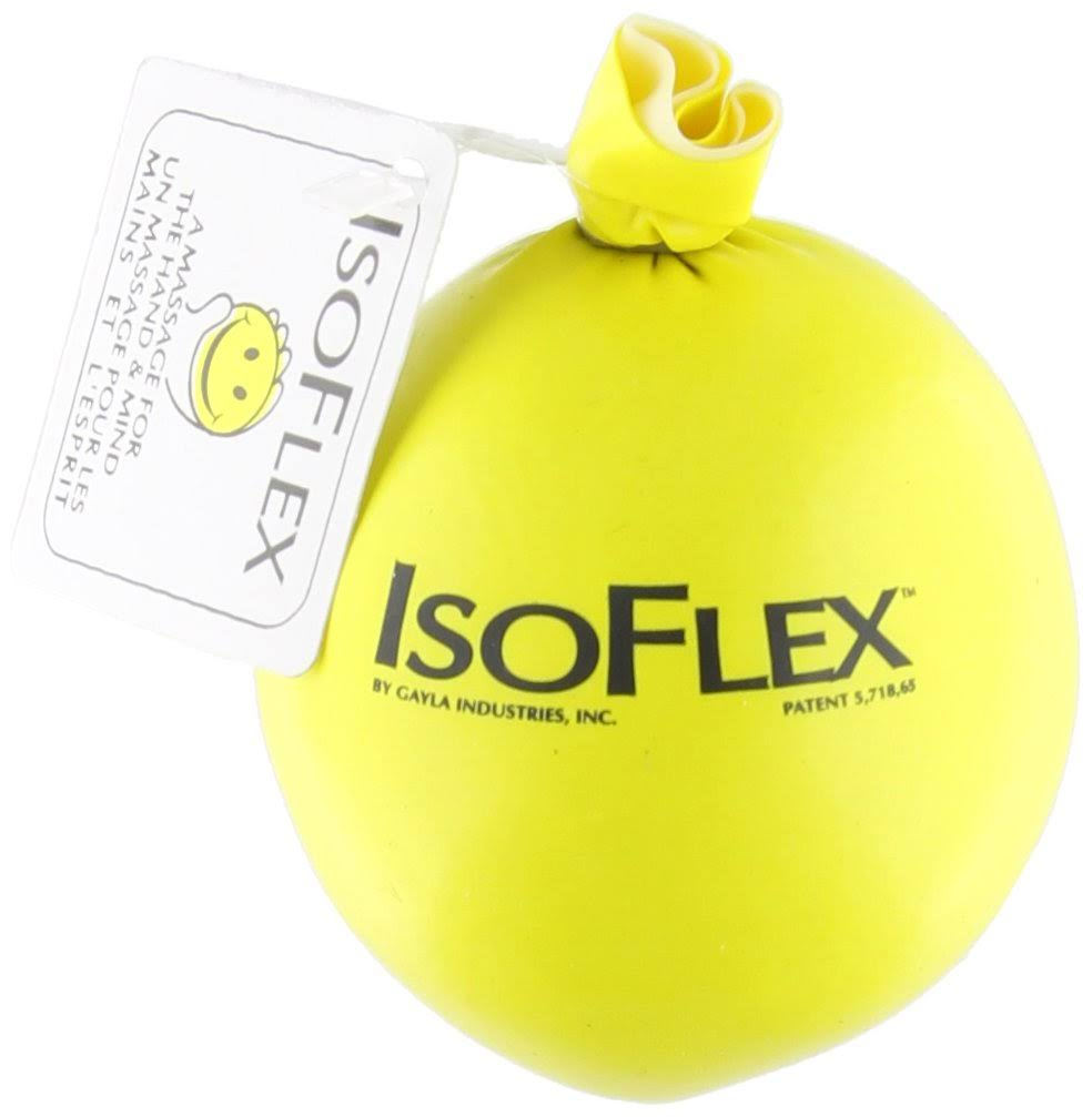 Isoflex Happy Face Design Stress Ball