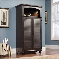 Sauder Shoal Creek Desk by Armoire Sauder Armoire Canada Shoal Creek 6 Drawer Oiled Oak