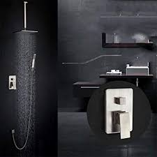 zhwy haushaltsgegenstände zhwy in wall top spray dusche alle
