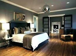 Grey Walls With Wood Floors Gray Contemporary Bedroom Design Wooden Floor