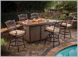 Bar Height Bistro Patio Set by Patio Outstanding Tall Furniture Outdoor Bar Height Bistro