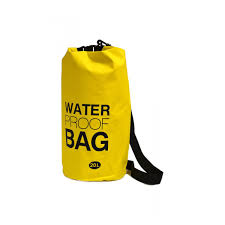 Yellow 20L Water Proof Bag