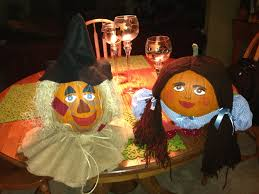 Pumpkin Contest Winners 2013 by Painted Pumpkins Dorothy And The Scarecrow The Wizard Of Oz