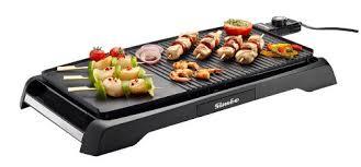 barbecue a la plancha plancha grill simeo cv320 plancha électrique siméo mix grill