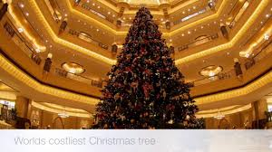 Rockefeller Plaza Christmas Tree Cam by Most Expensive Christmas Tree For 2016 Youtube