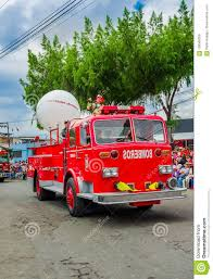 Quito, Ecuador - January 31, 2018: Outdoor View Of A Fire Truck ... Meccano Junior Fire Engine Styles Vary Amazoncouk Toys Games Linfield Company No 1 Provos First Motorized Fire Engine Turns 100 Years Old After Being Nanuet Rockland County New York Tonka Upc Barcode Upcitemdbcom Tonka Disney Mickey Mouse Truck 28 Motorized Clubhouse Toy Motorized Trucks Steps Best Truck Resource Bjs Whosale Club Product Mighty Tow Site Amazoncom Kid Trax Red Electric Rideon Latest 2014 Tough Cab Pumper Toy Defense Fire Truck W Lights