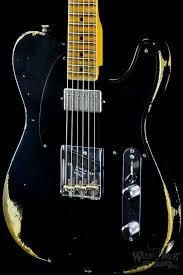 Fender 1952 Telecaster Heavy Relic Faded Black Streamlined U Neck Now How Ridiculous Is This 52 With Humbucker And Brand New Bridge Then