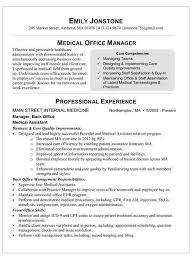 Medical fice Administration Resume Example Examples of Resumes