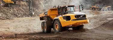 100 Articulating Truck Volvo A60H Articulated Hauler Mining Magazine