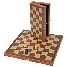 15 Classic Folding Chess Set