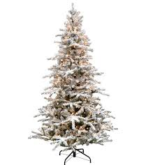 Flocked Artificial Christmas Trees Sale by White Forest Flocked Artificial Christmas Tree Classics