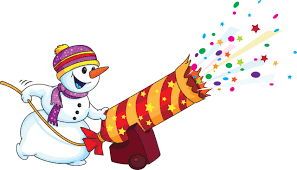 Snowman clipart new year Pencil and in color snowman clipart new
