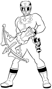 Power Ranger Coloring Pages Printable Me Books