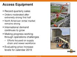 Oshkosh Corporation 2018 Q3 - Results - Earnings Call Slides ... Okosh A98 3200g969 Stock Fda237 Front Drive Steer Axle Tpi Military Roller Chock Truck 1450130u Hemtt Ebay 3 Top Stocks Youve Been Overlooking The Motley Fool Model M911 Winsdhield Parts Kit 3sk546 251001358 Terramax Flatbed 2013 3d Model Hum3d Kosh For Sale N Trailer Magazine Cporation Wikipedia Trucks Photos Todays 5 Picks Unilever More Barrons