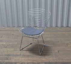 100 Side Dining Chairs Product Bertoia Silver Grey Wire Chair MediaCityFurnitureHire