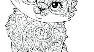Kitten Coloring Page Pages Ultimate Cute Cats Who Made Hilariously