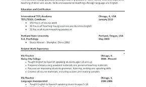 Study Abroad Resume Sample Example With As Well
