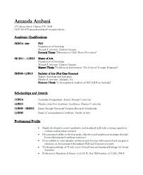 Resume Template Latex Best Format Academic Medium Outstanding