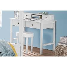 coiffeuse bureau etagère 2 tiroirs 1 niche pour console coiffeuse bureau rauch