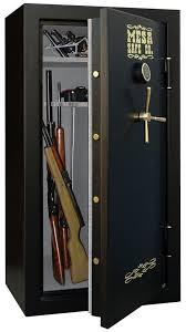 Stack On 14 Gun Security Cabinet Black by Best Gun Safe Reviews 2017 Handgun Biometric Large And