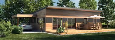 maison ossature bois contemporaine t5 90 m2