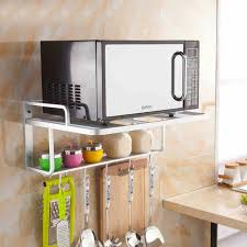 New Style Kitchen Shelf Wall Rack Microwave oven wall shelf