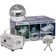 Firefly Laser Lamp Uk by White Led U0026 Laser Light Smoke U0026 Snow Machine Party Set