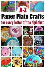 A Z Paper Plate Crafts For Every Letter Of The Alphabet