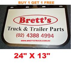 MUD0004 *BUY 1 & GET 1 FREE* GENUINE BRETTS TRUCK PARTS MUDFLAPS 13 ... Hd Mudflaps Pack For Ats V12 By Aradeth Mod American Truck Mud Flaps Rblokz Hdware Pdm Nylon 1 Offset Old License Plate Stock Photos Flaps Back Off Simulator Anyone Getting Splash Guards Or Mudflaps Ram Rebel Forum Sold Vintage 70s New In Package Demon Dirty Mean Nasty Mud Mudflapsadjustable And Suv Flapsmud