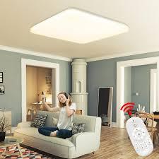 naizy 24w dimmbar led deckenleuchte ultraslim reines weiß quadrat randloses design le modernes flache für badezimmer küche kinderzimmer wohnzimmer