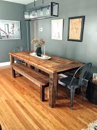 en grey wood dining table uk canada room sets rustic wooden