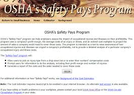 Safety and Health Topics