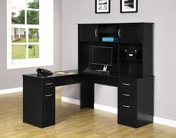 Ameriwood L Shaped Desk Assembly by Ameriwood Furniture Chadwick Hutch Black