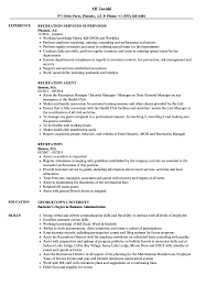 Recreation Resume Samples | Velvet Jobs 30 Resume Examples View By Industry Job Title 10 Real Marketing That Got People Hired At Nike How To Write A Perfect Food Service Included Phomenal Forager Sample First Out Of College High School And Writing Tips Work Experience New Free Templates For Students With No Research Analyst Samples Visualcv Artist Guide Genius Administrative Assistant Example 9 Restaurant Jobs Resume Sample Create Mplate Handsome Work