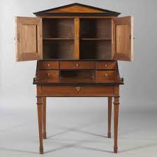 bureau teck massif design bureau bois secretaire tiroirs en teck massif en