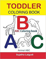 Toddler Coloring Book ABC Animal Abc For Toddlers Childrens Learning Books Big Of Activity
