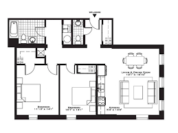 Spectacular Apartment Floor Plans Designs by Bedroom 4 Spectacular Floor Plans 2 Bedroom With Floor Plan